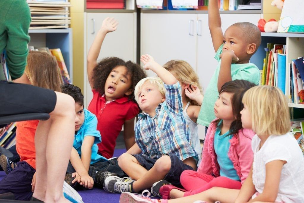 MakoStars LLC/ bigstock Group of Elementary Pupils In 45726730
