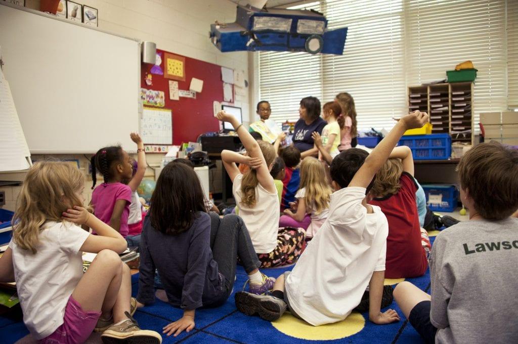 ESL classroom - communicate approach, CLT