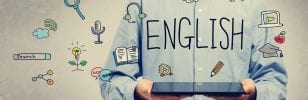 Studying English while staying at home